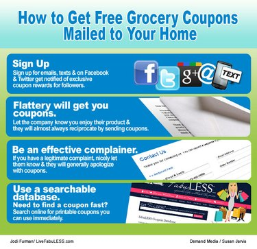 How to Get Free Grocery Coupons Mailed to Your Home
