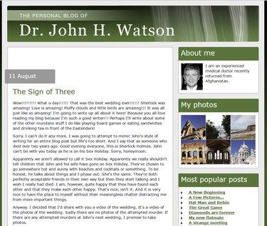 watson's blog