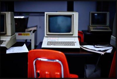 classic computer classroom