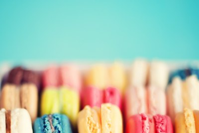 Rows of Macaroons