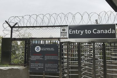 US Customs and Border Protection Checkpoint