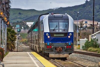 Amtrak Pacific Surfliner train