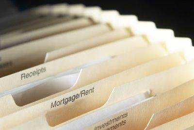 Mortgage files