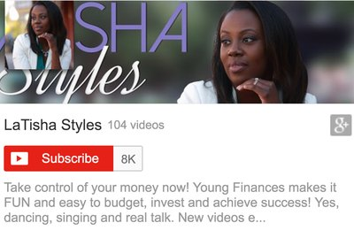 Latisha Styles YouTube