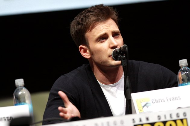 Chris Evans speaking at the 2013 San Diego Comic Con International