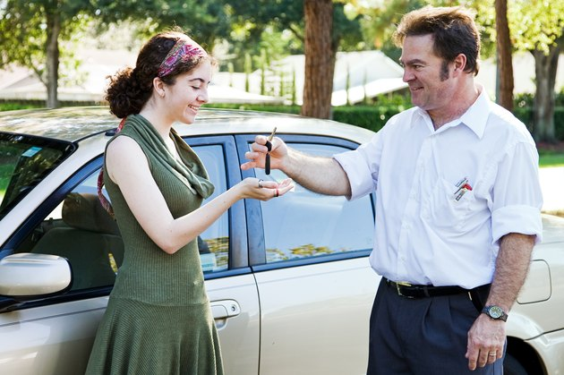 How to Buy a Car at 17 Years of Age                Handing Over Keys