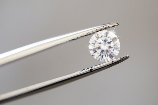 Do Diamonds Appreciate or Depreciate in Value?Diamond being inspected with tweezers