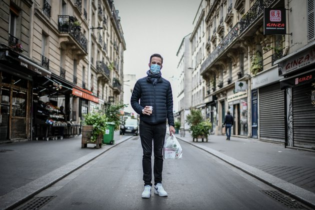 FRANCE-HEALTH-VIRUS-MASK