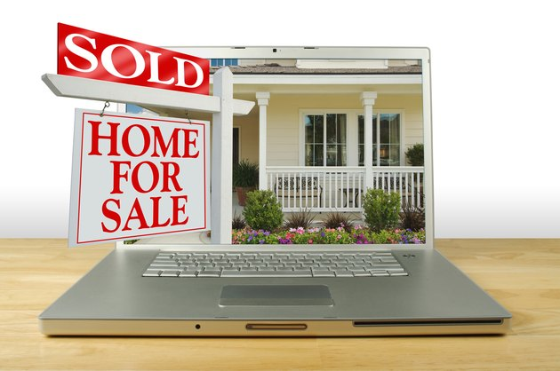 How to Find a Listing From an MLS ID NumberSold Home for Sale Sign & House on Laptop.