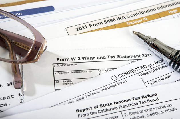 Withholding California Income Tax on an IRA DistributionTax forms