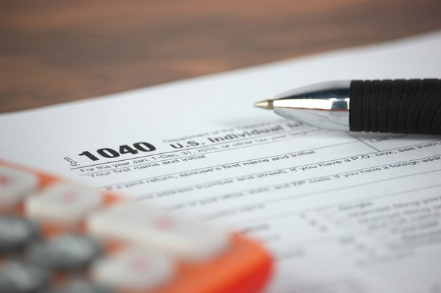List of Allowable Itemized Deductions         US tax form 1040