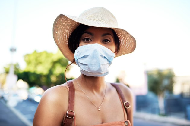 Protecting myself from all the polluted air in the city