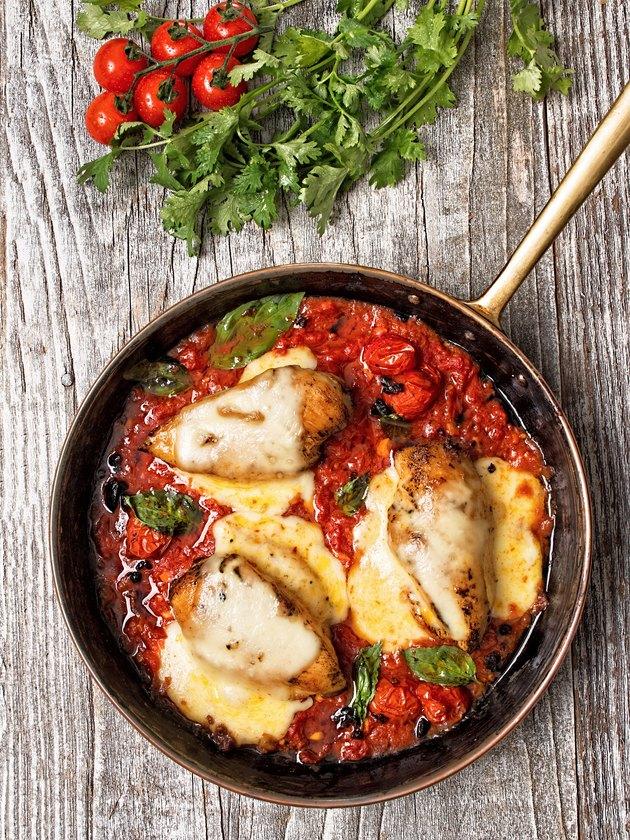 rustic baked italian pollo margarita chicken
