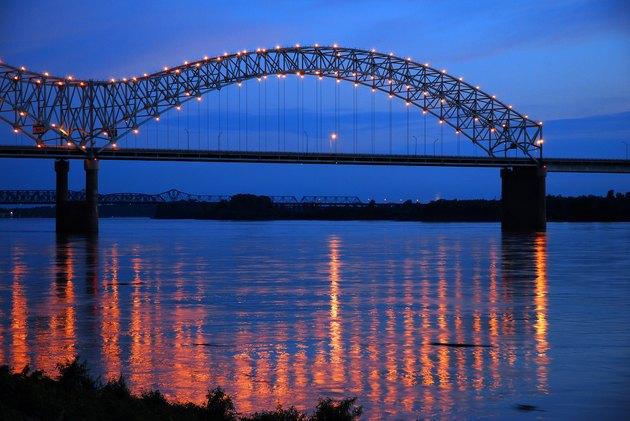 DeSoto Bridge on the Mississippi River