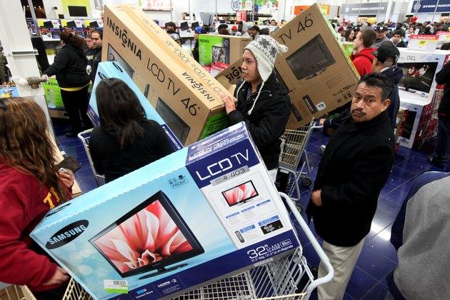 """Black Friday"" Marks Start Of Holiday Shopping Season"