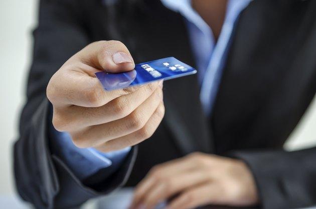Providing credit card