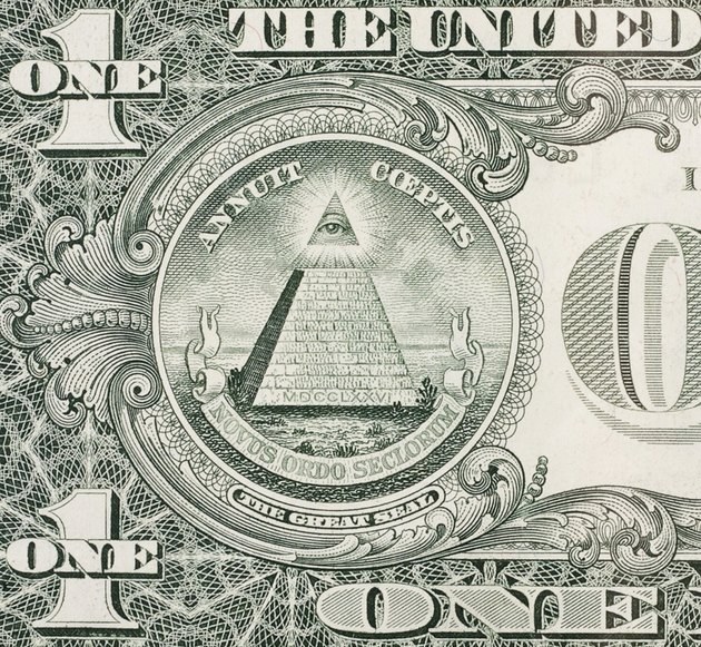 Eye of Providence - One dollar bill
