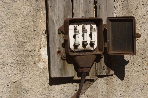Old circuit breaker