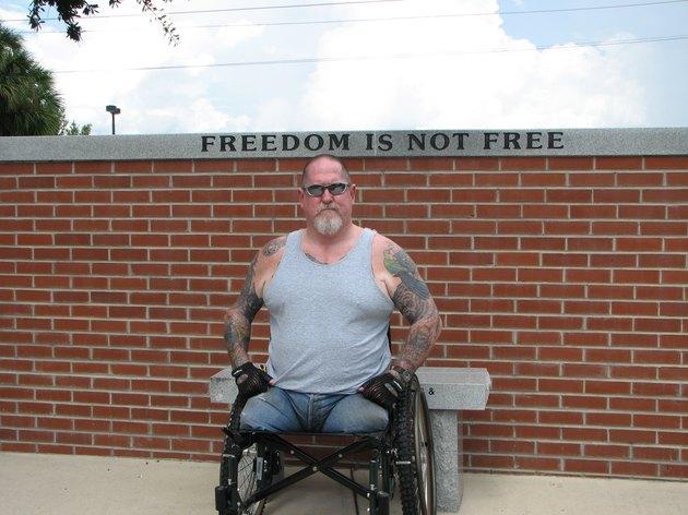 Disabled Vietnam Vet
