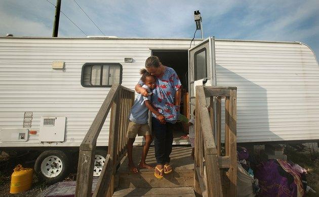 Louisiana FEMA Trailer Park Still Inhabited Four Years Later