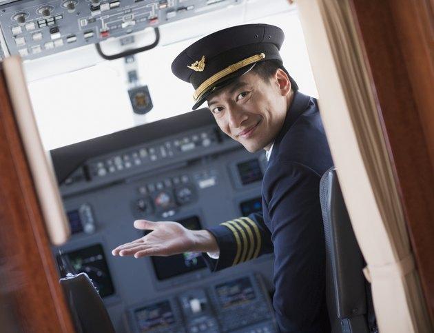 Pilot Gesturing in Cockpit