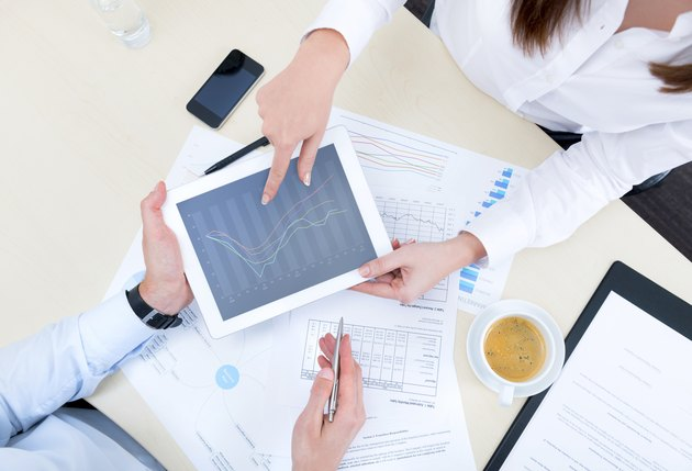 Discussion of strategy with a financial analyst