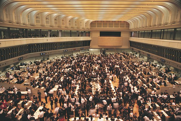 Tokyo Stock Exchange , Tokyo , Japan