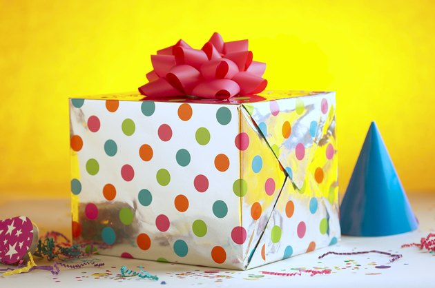 Party hat and gift
