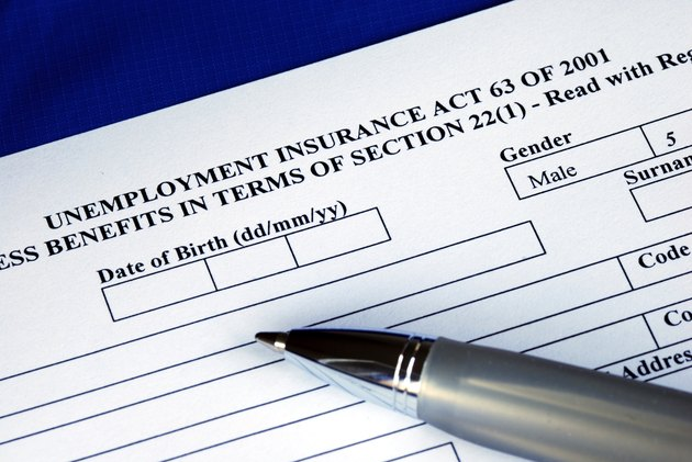 Filling the unemployment insurance application for