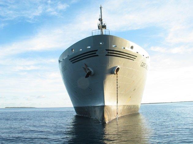ship at anchor