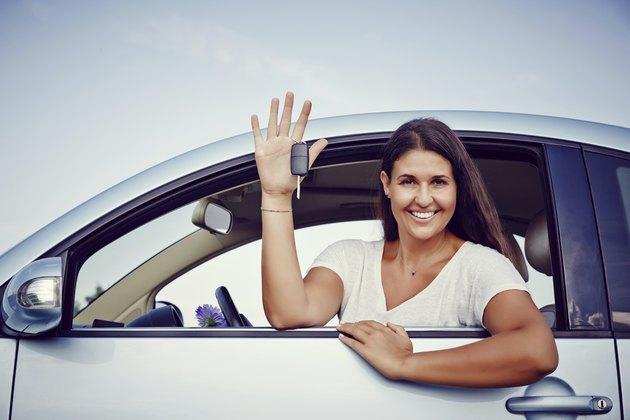 Rental Car Woman