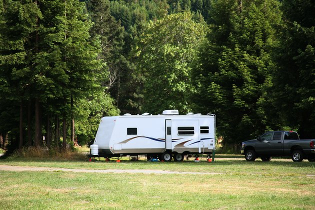 Travel Trailer with Slide Out