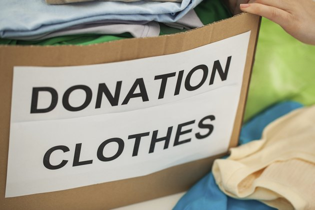 Donating Clothes for Charity