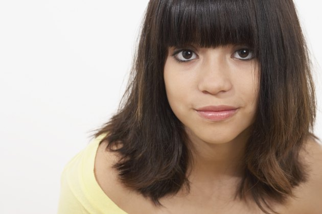 Portrait of a teenage girl