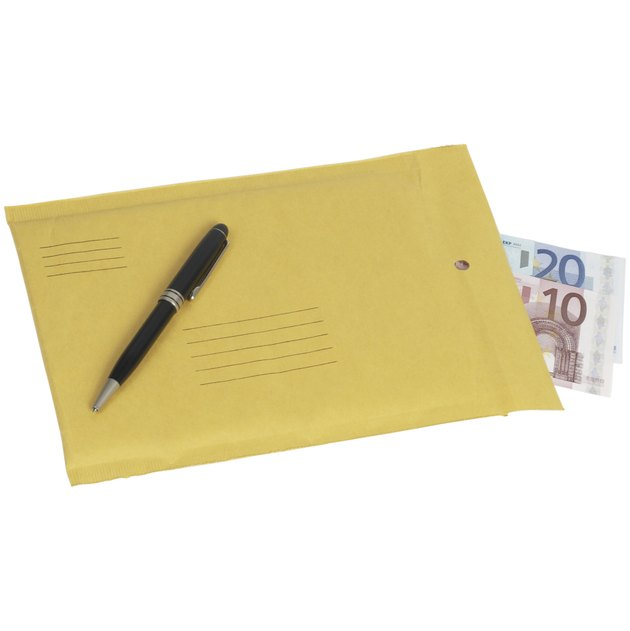 Pen, Envelope & Money