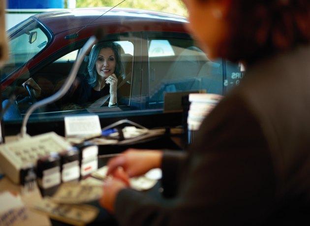 Drive Through Bank Teller