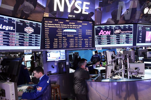 Dow Jones Industrials Average Reaches Four Year High