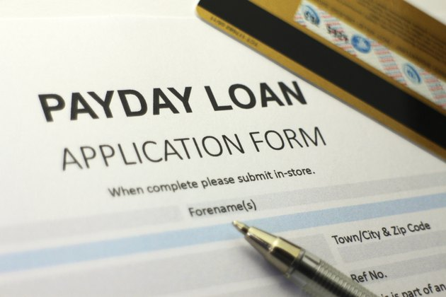 Payday short immediate loan application form.