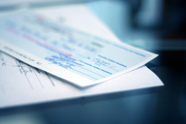 cheque and contract