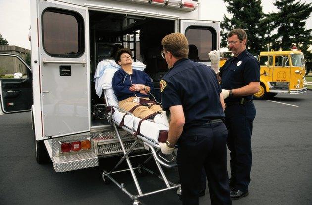 Going into Ambulance