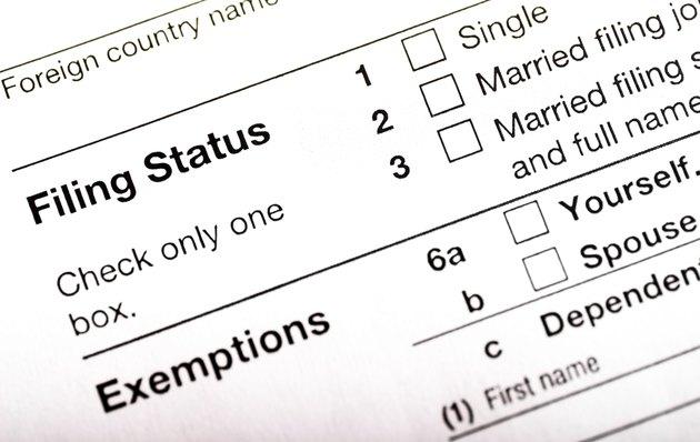 IRS Filing Status