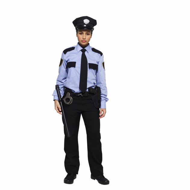 Portrait of a policewoman