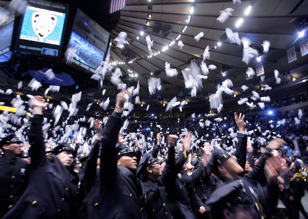 A New Class Of NYPD Recruits Graduates