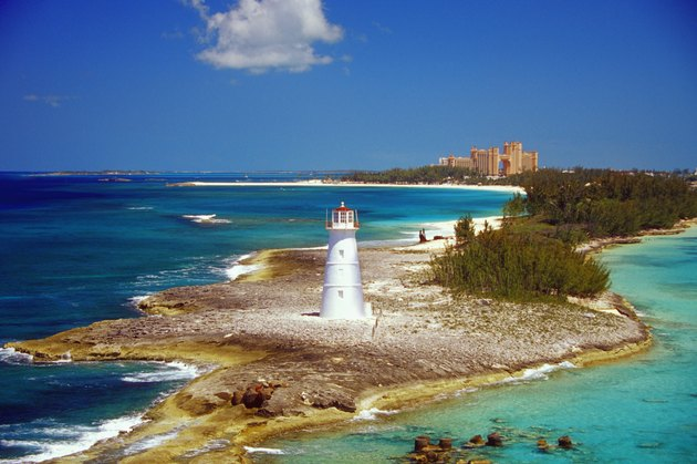 Lighthouse on Paradise Island-Nassau,  Bahamas, Caribbean