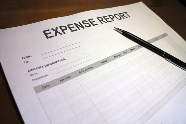 Job Expense Report Form