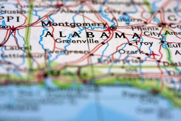 Alabama on the Map