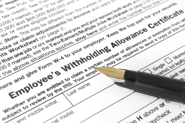 Employee's Withholding Allowance Certificate
