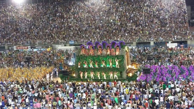 Rio is famous for hosting the best Carnaval in the world