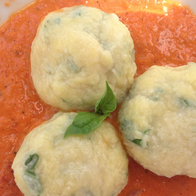 gnudi are like gnocchi, but easier!