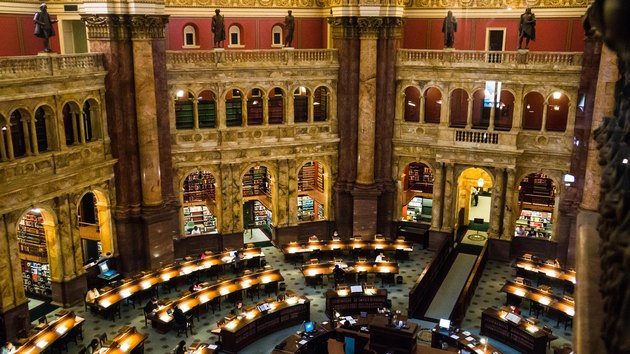 reading room library of congress